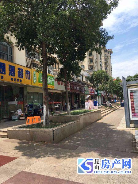 朝阳路与柏庐路口中茵广场门口沿街商铺便宜出售