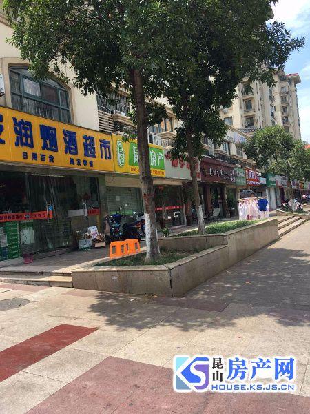 柏庐路沿街商铺出售 现在出租中 年租金8万5 适合餐饮超市 小区超市门口位置