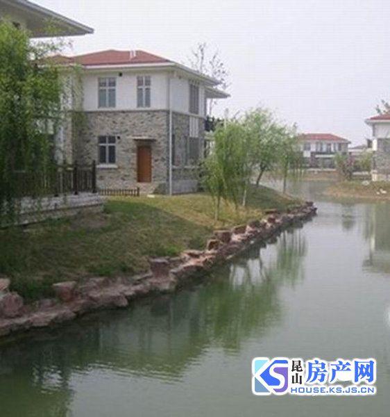 城西 高端小区 毛坯独栋大别墅出售 占地1.5亩 靠大河 看房方便